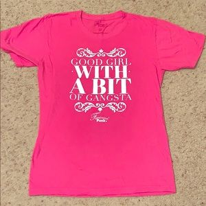 Pink Graphic T shirt